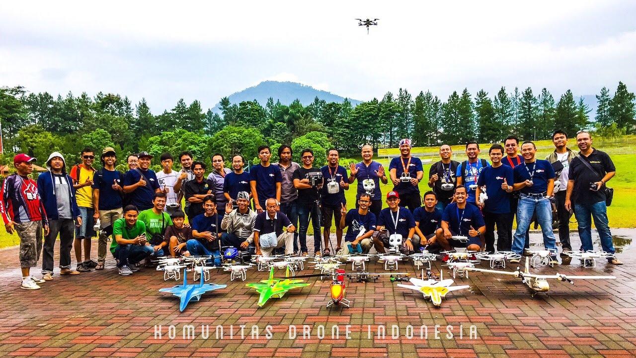Komunitas Pecinta Drone, Komunitas Teknologi Masa Kini di Indonesia
